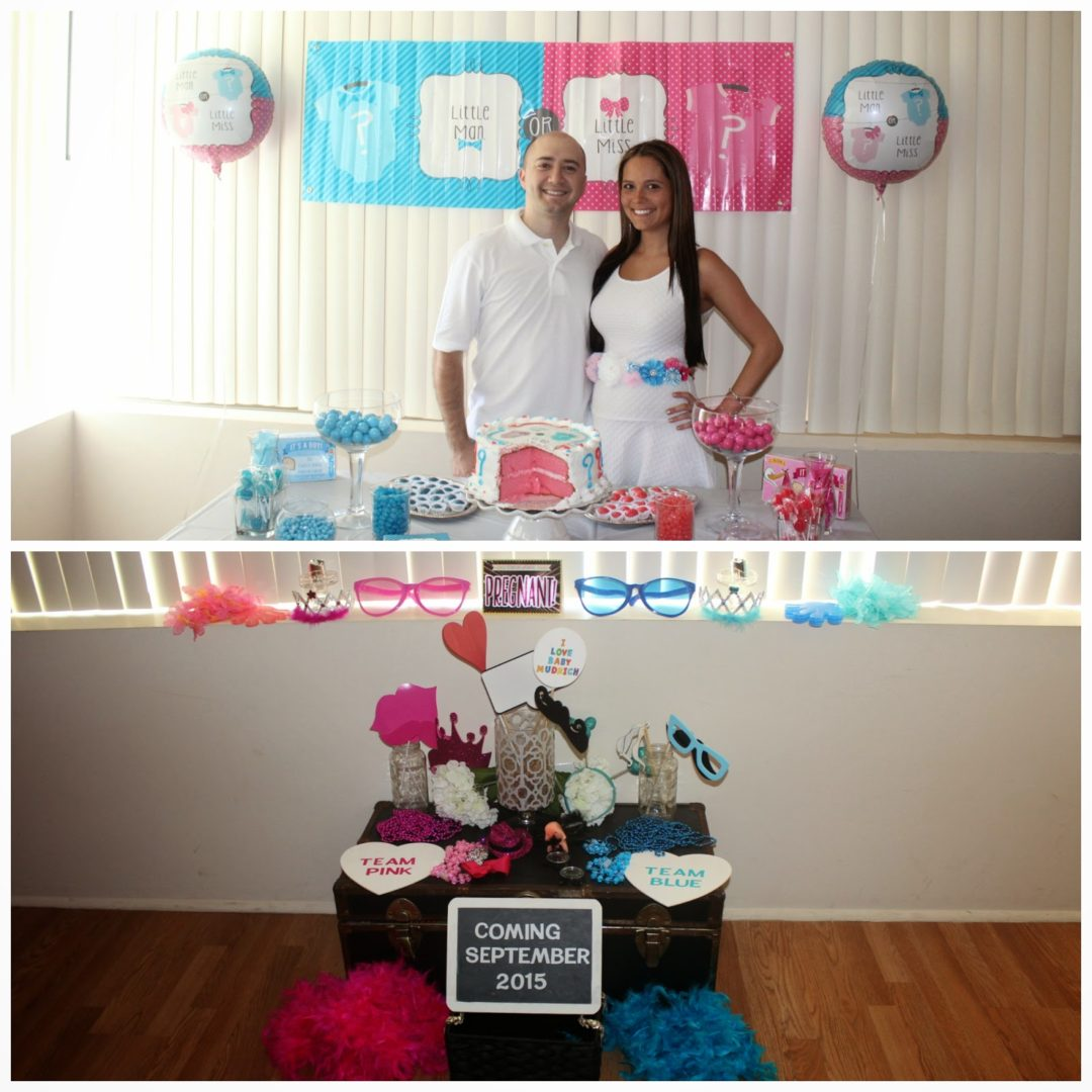 After cutting the cake, and Photo Booth props!