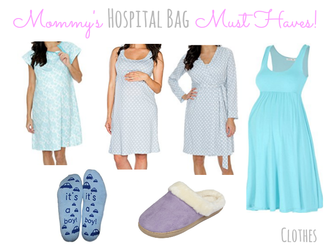 Mommy's Hospital Bag Clothes!