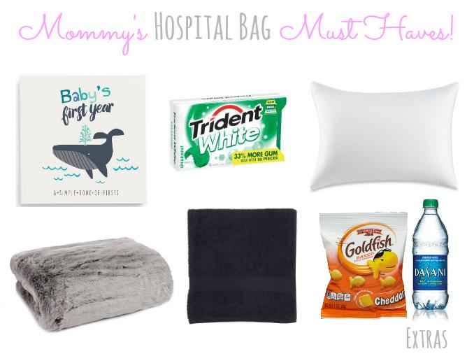 Mommy's Hospital Bag Extras