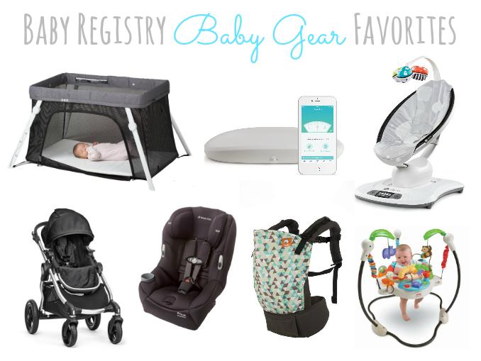 Baby Registry Gear