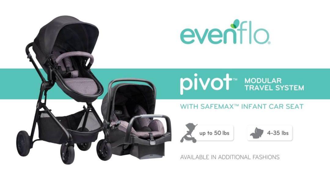 Evenflo Pivot Travel System Review Laura Co Blog