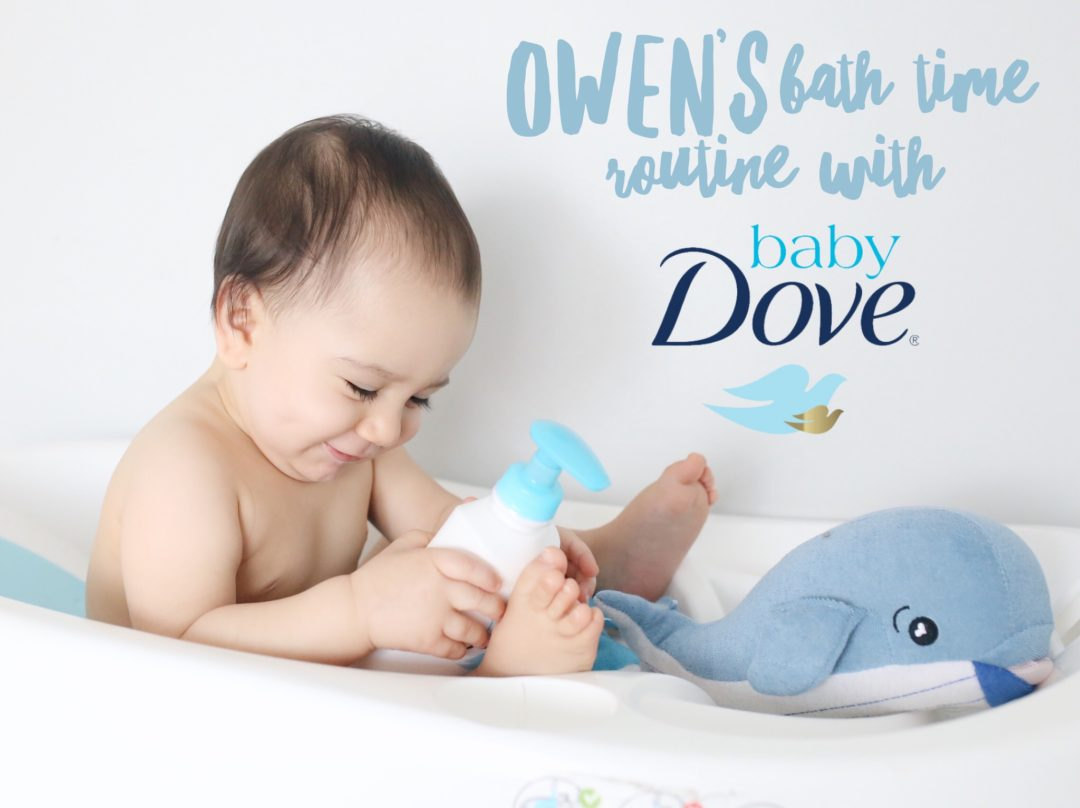 Owen\'s Bath Time Routine with Baby Dove – Laura & Co Blog