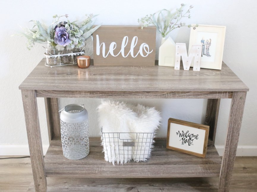 Overall I Am Pretty Hy With The Way My Little Entryway Table Looks What Do You Think Let Me Know Below