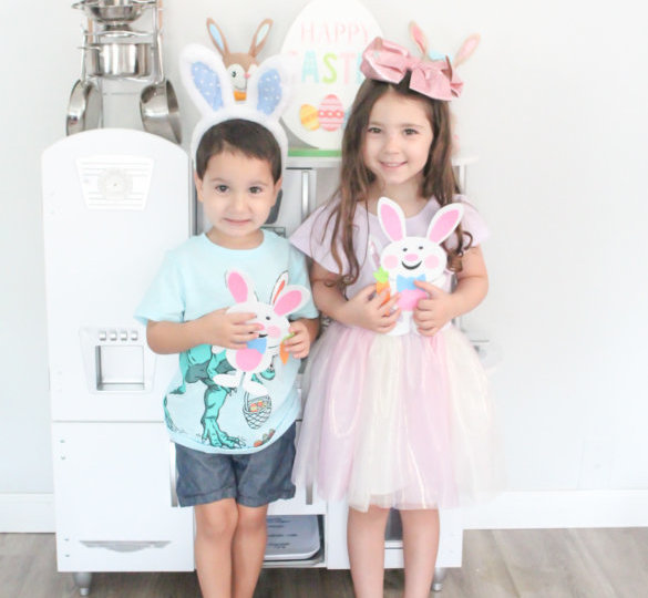 Easy Easter Bunny Craft8