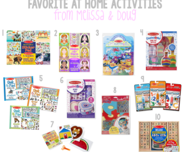 Melissa & Doug Activities To Do At Home
