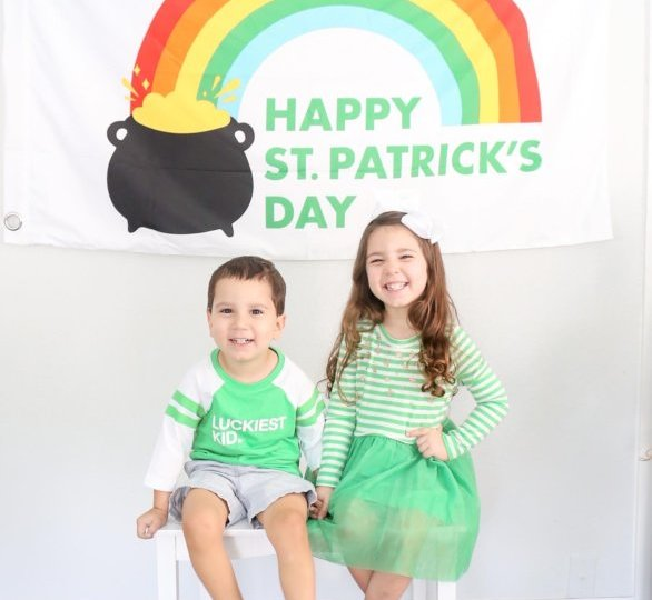St. Patrick's Day Playroom Decor5