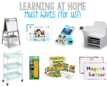 Learning at Home Must Haves