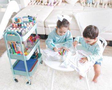 Kids Art Cart