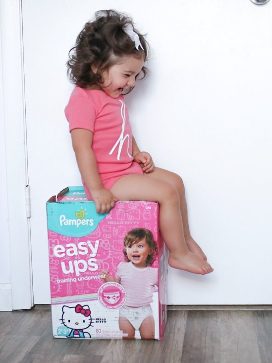 Potty Training With Pampers Easy Ups Laura Amp Co Blog